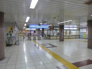 新桜台駅改札