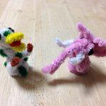 ピンクの象と水玉カモノハシの詳細へ